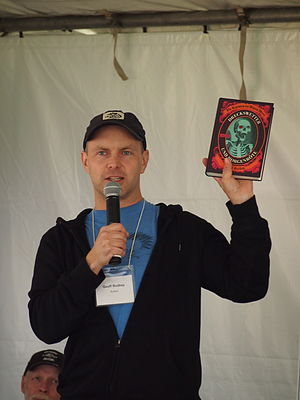 Geoff Rodkey - Rodkey at the 2014 Gaithersburg Book Festival