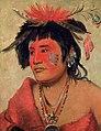George Catlin - Pah-shee-náu-shaw, a Warrior - 1985.66.224 - Smithsonian American Art Museum.jpg
