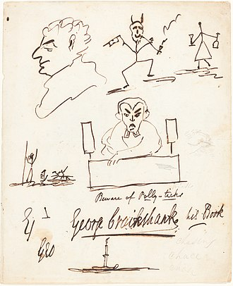 George Cruikshank - Satirical Sketches, National Gallery of Art