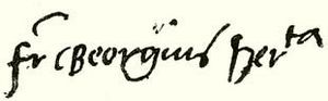 George Martinuzzi - Image: George Martinuzzi Signature