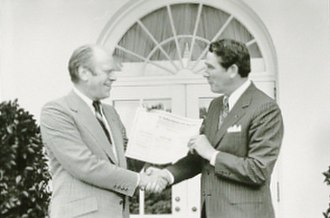 Winfield Dunn - Dunn (right) with President Gerald Ford at the White House in 1974