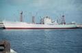 German motor vessel Lindenstein of the Bremer North German Lloyd - 1968.png