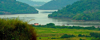 Ulhas River - Image: Ghodbunder 2