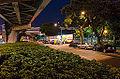 Ghost Festival in Sidewalk of Jiankang Road, Songshan District, Tapei 20140802.jpg