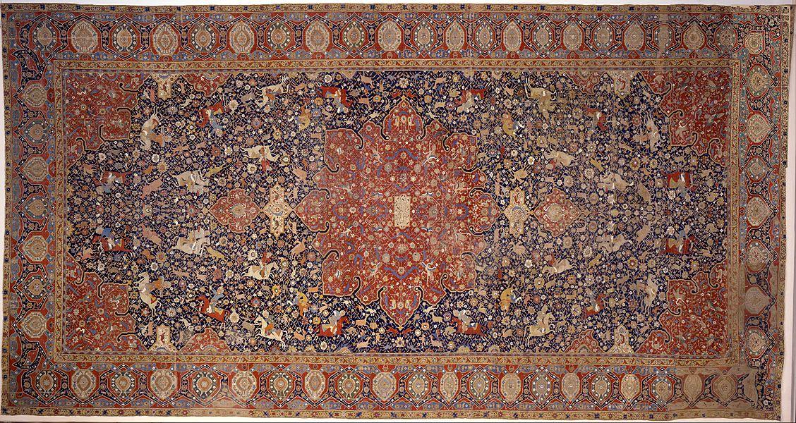 silk carpet - image 4