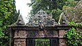 Gilmilnscroft House , Sorn, East Ayrshire. Garden feature marriage stone.jpg