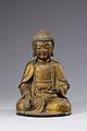 Gilt-bronze Seated Amitabha Buddha.jpg