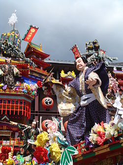 Hita Gion Festival, held on every July, and one of famous for event in Oita Prefecture