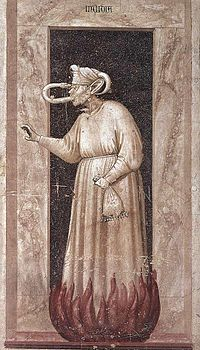 Giotto di Bondone - No. 48 The Seven Vices - Envy - WGA09275.jpg