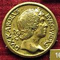 Giovanni candida, medaglia di carlo il temerario, duca di borgogna, recto (bronzo dorato).JPG