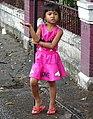 Girl Strikes a Pose - Bangkok - Thailand - 01 (34565087971).jpg