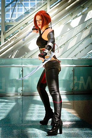 Rayne (BloodRayne) - Promotion of BloodRayne: Betrayal at E3 2011