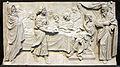 Girolamo ticciati, banchetto di erode tra due aquile, 1732 circa, dal battistero 02.JPG