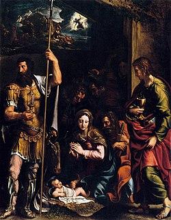 Giulio Romano - Adoration of the Shepherds - WGA09609.jpg