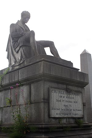 Glasgow Necropolis - Charles Tennant Monument