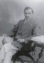 Andrea Glavina, il principale scrittore in lingua istrorumena ed autore dell' Imnul Istro-romanilor