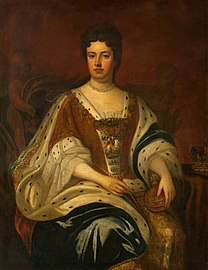 Godfrey Kneller (1646-1723) (after) - Queen Anne (1665–1714), Reigned 1702–1714 - PG 184 - National Galleries of Scotland.jpg