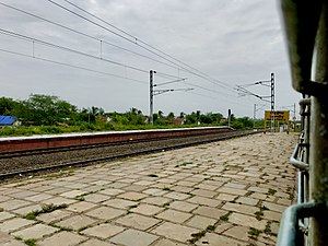 Gollaprolu railway station board.jpg