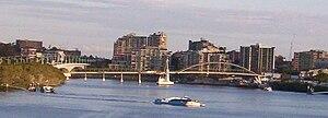 Gardens Point, Brisbane - Image: Goodwill Bridge