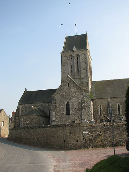 Église de Gorges, dpt de la Manche, NormandieGorges churche, Normandy