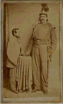 Colonel Routh Goshen Appeared With Commodore Nutt In The