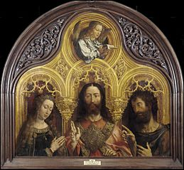 Christ between the Virgin Mary and Saint John the Baptist