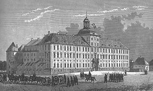 Gottorf Castle - Gottorf castle in 1864
