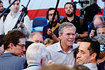Governor of Florida Jeb Bush, Announcement Tour and Town Hall, Adams Opera House, Derry, New Hampshire by Michael Vadon II 01.jpg