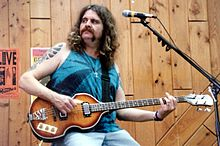 Allen Woody with Gov't Mule.