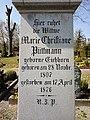 Grabstein Maria Christiane Püttmann Burgfriedhof Warburg 1876 04.jpg