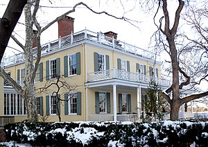 Carl Schurz Park - Gracie Mansion, the official residence of the New York City mayor.