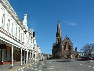St Michael and St George Cathedral, Grahamstown - Cathedral of St. Michael and St. George in Church Square