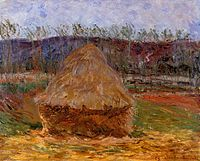 Grainstack at Giverny 1889 Claude Monet Tel Aviv.jpg