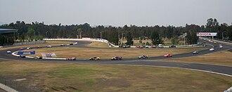 Autódromo Hermanos Rodríguez - Grand-Am Rolex Series taking a bypass from turn 4 to turn 8