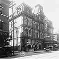 Grand Opera House in 1913 and nearby building.jpg