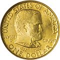 Grant gold commemorative dollar coin.jpg