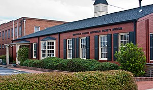 National Register of Historic Places listings in Granville County, North Carolina - Image: Granville Co Historical Museum 0589