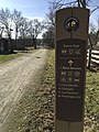 Great Allegheny Passage's post sign direction (31789020693).jpg