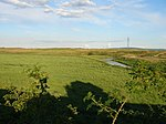 Greatham Creek meanders through Cowpen Marsh - geograph.org.uk - 497345.jpg