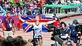 Greg Rutherford's lap of honour (7738553140).jpg