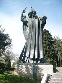 Grgur Ninski statue in Split.JPG