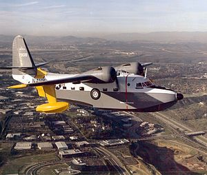 Grumman HU-16C Albatross Umpqua in flight.jpeg