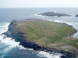 Bound Skerry island in the Out Skerries, Shetland, United Kingdom