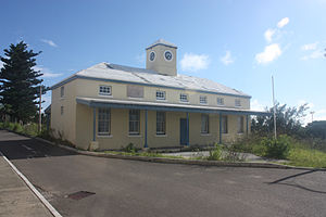 Prospect Camp, Bermuda - The Guard House at Prospect Camp, Devonshire, Bermuda in 2011