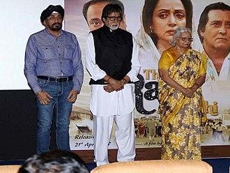 Gul Bahar Singh - Gul Bahar Singh with actor Amitabh Bachan