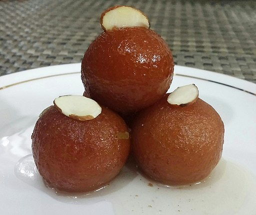 Gulaab Jamun (homemade!) bright