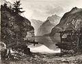Gustav Bernhold - Tirolska pokrajina z jezerom.jpg