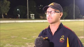 File:Gympie Gold XI defeat Maroochydore in T20 Final- Gerard Flegler Presser video.webm