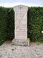 Hébécourt, monument au 2e bataillon de chasseurs à pied, 27 nov. 1870.jpg