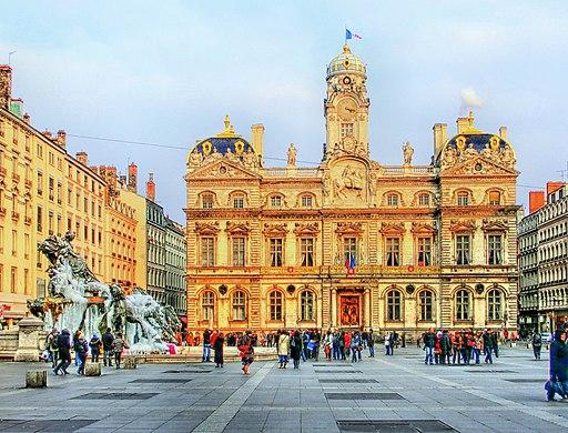 Hôtel de ville-Place des Terreaux -Lyon